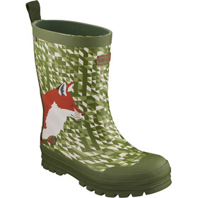 Viking Footwear Big Fox Saappaat Lapset, green/multi